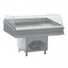 Витрина холодильная для рыбы Atesy Виламора-1200