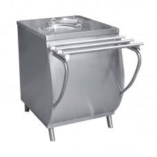 Прилавок ПТЭ-70Т-80 для подогрева тарелок