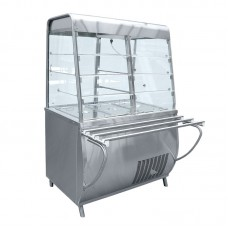 Прилавок-витрина холодильный ПВВН-70Т-С-01 с гастроёмкостями