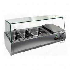 Витрина холодильная Hicold VRTG 1G для топингов