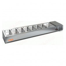 Витрина холодильная Hicold VRTO 3 к PZE3