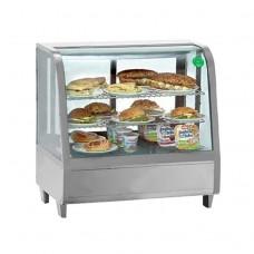 Витрина холодильная Koreco RTW100L серебро