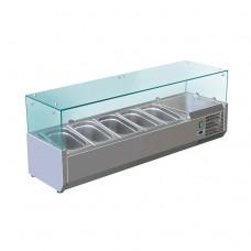 Витрина холодильная Koreco VRX 1200-380 395II