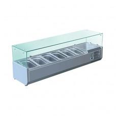 Витрина холодильная Koreco VRX 1400-380 395II