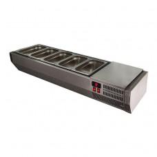 Холодильная витрина Polair VT2-G без крышки
