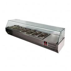 Холодильная витрина Polair VT3-G без крышки