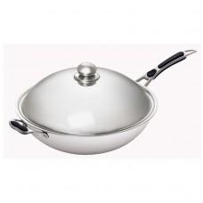 Сковорода Wok STARFOOD d 36 см+Крышка для сковороды Wok